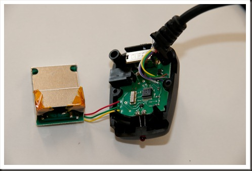Removing the upper circuit board