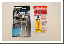 Marine Silicone and Liquid Tape