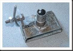 Aluminium mounting bracket