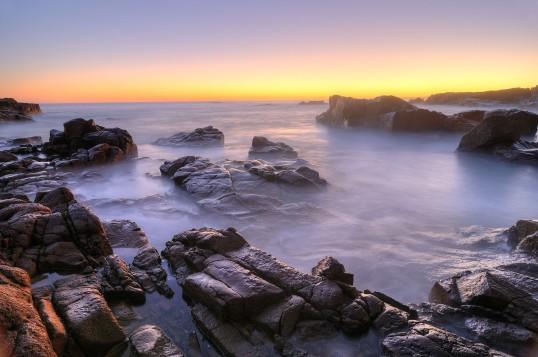 Sunset at Anna Bay, NSW