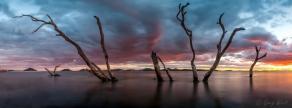 Sunset, Corrie Island Port Stephens, NSW